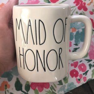 Rae Dunn Maid of Honor mug 👰🏼💎